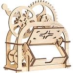 Сборная модель Ugears Механическая шкатулка 70001