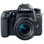 Фотоаппарат Canon EOS 77D Black + 18-55mm