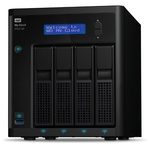 Сетевое хранилище NAS WD Original 16Tb WDBKWB0160KBK-EEUE MY CLOUD PR4100