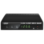 Ресивер DVB-T2 BBK SMP021HDT2 темно-серый