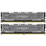Оперативная память Crucial Ballistix Sport LT 2x8GB DDR4 PC4-19200 [BLS2C8G4D240FSBK]