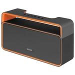 Аудиомагнитола Mystery MBA-613UB серый/оранжевый