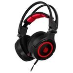 Наушники с микрофоном Tt eSports Cronos Riing RGB 7.1 (HT-CRA-DIECBK-20)