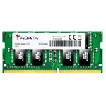 Оперативная память A-Data Premier 4GB DDR4 SODIMM PC4-19200 AD4S2400J4G17-R