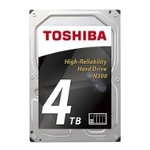 Жесткий диск Toshiba SATA-III 4Tb HDWQ140UZSVA NAS N300 (7200rpm) 128Mb 3.5