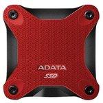 Внешний жесткий диск A-Data SD600 256GB (красный)