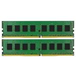 Оперативная память Kingston 2x8GB DDR4 PC4-19200 [KVR24N17S8K2/16]