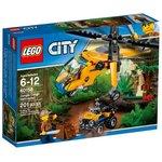 Конструктор LEGO City Грузовой вертолёт исследователей джунглей 60158
