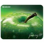 Коврик для мыши Defender Juicy Sticker тонкий с картинкой (220*180*0.4mm)