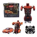 Радиоуправляемая игрушка 1Toy Робот-трансформер Red Т10867