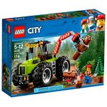 Конструктор LEGO City Лесной трактор (60181)