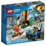 Конструктор Lego City Police Убежище в горах 60171
