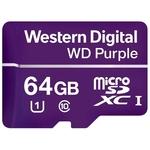 Карта памяти WD Purple WDD064G1P0A microSDXC 64GB