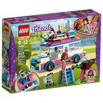 Конструктор Lego Friends Передвижная научная лаборатория Оливии 41333