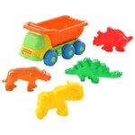 Детская игрушка Полесье Самосвал Кеша с формочками 57846