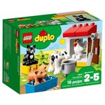 Конструктор Lego Duplo Town Ферма: домашние животные 10870