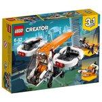 Конструктор Lego Creator Дрон-разведчик 31071