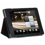 Чехол IT BAGGAGE для планшета ACER Iconia Tab A510/A701 иск. кожа Jeans черно-синий ITACA5103-1