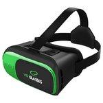 Очки виртуальной реальности Esperanza EGV300 (черный/зеленый)