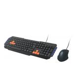 Клавиатура + мышь Ritmix RKC-055 черный USB