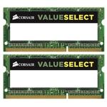 Оперативная память Corsair Value Select 2x4GB DDR3 SO-DIMM PC3-12800 (CMSO8GX3M2C1600C11)