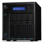 Сетевой накопитель WD My Cloud EX4100 16TB (WDBWZE0160KBK-EESN)