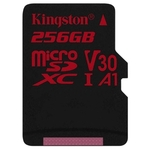 Карта памяти Kingston Canvas React SDCR/256GB microSDXC 256GB + адаптер