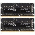 Оперативная память HyperX Impact 2x8GB DDR4 SODIMM PC4-21300 HX426S15IB2K2/16