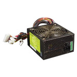 Delux 400W (120mm) БП Delux 400W (20+4pins, 4 big 4PIN, 1 small 4PIN, 2*SATA, P4, male socket+ON/OFFswitch, SECC shell, 220V)