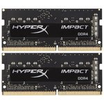 Оперативная память HyperX Impact 2x4GB DDR4 SODIMM PC4-19200 HX424S14IBK2/8
