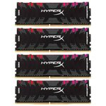 Оперативная память HyperX Predator RGB 4x8GB DDR4 PC4-23400 HX429C15PB3AK4/32