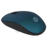 Мышь Oklick 515MW (черный/зеленый)