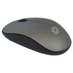 Мышь Oklick 515MW (черный/серый)