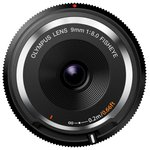 Объектив Olympus Body Cap Lens 9mm 1:8.0 черный