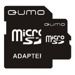 Карта памяти Qumo microSDHC 8Gb QM8GMICSDHC4NA Class4