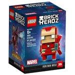 Конструктор Lego Brick Headz Железный человек 41604