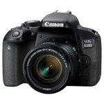 Фотоаппарат Canon EOS 800D Black + 18-55mm