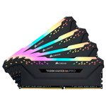 Оперативная память Corsair Vengeance PRO RGB 4x16GB DDR4 PC4-25600 CMW64GX4M4C3200C16