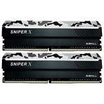 Оперативная память G.Skill Sniper X 2x8GB DDR4 PS4-25600 F4-3200C16D-16GSXWB