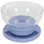 Кухонные весы LUMME LU-1303 фиолетовый чароит