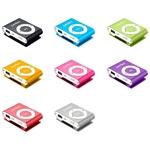 MP3 плеер Perfeo VI-M001-4GB Music Clip Titanium Blue