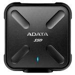 Внешний жесткий диск A-Data SD700 256GB (черный/желтый) [ASD700-256GU3-CYL]