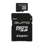 Карта памяти microSDHC 8Gb Qumo QM8GMICSDHC10NA
