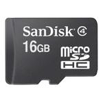 Карта памяти SanDisk microSDHC (Class 4) 16GB [SDSDQM-016G-B35]