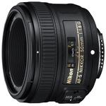 Объектив Nikon AF-S (JAA015DA) 50мм F, 1.8