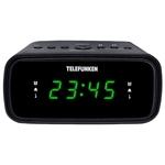 Радиобудильник TELEFUNKEN TF-1588 черный/зеленый