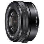 Объектив Sony E PZ 16-50mm F3.5-5.6 OSS silver OEM (SELP1650S)