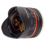 Объектив Samyang 8mm f/2.8 UMC Fisheye Silver (Fujifilm X)