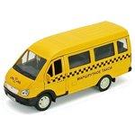 Модель 1:34-1:39 ГАЗель ГАЗ-3221 такси Welly 42387ATI