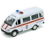 Модель 1:34-1:39 ГАЗель ГАЗ-3221 МЧС Welly 42387ARE